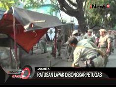 Petugas Bongkar Lapak PKL Di Grogol - iNews Siang 22/09
