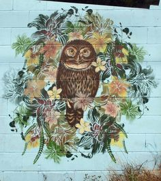 Stencil street art by New Zealand's Flox - Lost At E Minor: For creative people Stencil Street Art, Stencil Art, Stencils, Urban Street Art, Best Street Art, Nz Art, Street Art Photography, Sidewalk Art, Mural Art