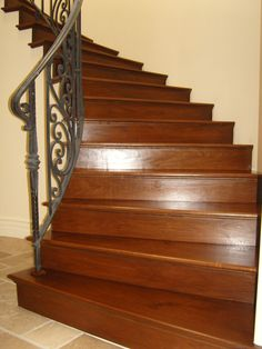 Hardwood Stairs Photo: This Photo was uploaded by dilanimendis. Find other Hardwood Stairs pictures and photos or upload your own with Photobucket free . Flooring For Stairs, Hardwood Stairs, Wooden Flooring, Hardwood Floors, Wooden Staircases, Going Home, Townhouse, Solid Wood, New Homes