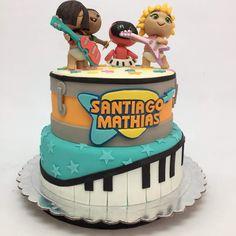 Dance Party Kids, Baby Beat, Rocket Cake, Rocket Power, Baby Rocker, Music Party, Ideas Para Fiestas, How Big Is Baby