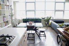 Mel & Dave's Industrial Chic Loft — House Tour