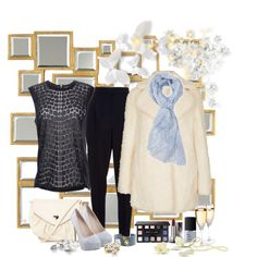 """""""blue and beige"""" by ntina36 on Polyvore"""
