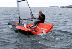 I can't do sailboarding, but I bet I could do this. . .