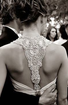 Beautiful back dresses- Anna Campbell bridal collection