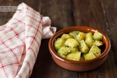 Receta de patatas adobadas al horno