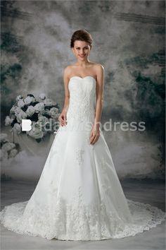 Beautiful Corset-back Petite Chiffon Fine-netting Best Wedding Dresses