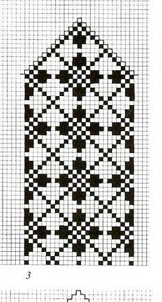 Duker Knitted Mittens Pattern, Fair Isle Knitting Patterns, Knit Mittens, Knitting Charts, Weaving Patterns, Crochet Patterns, Cross Stitch Bookmarks, Cross Stitch Charts, Wedding Cross Stitch Patterns