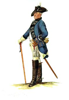 SOLDIERS- Menzel: SYW- Prussia: Prussian Dragoner-Regiment Württemberg No 12, by Adolph Menzel.