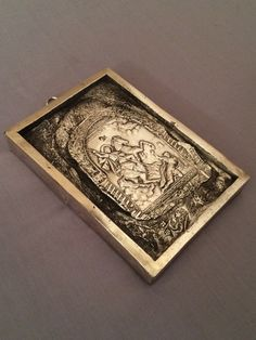 Vintage Reproduction Orthodox Icon RARE St. by oldfangledcool