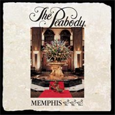 The Peabody Memphis image looks great on the custom marble coaster from @classiclegacy