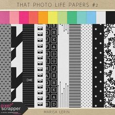 That Photo Life Papers 2  Digital Scrapbooking by MarisaLerin