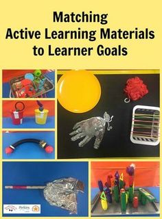 Tips to match Active Learning materials to learner goals