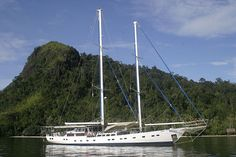 The Bintang #yacht is the perfect schooner to cruise the #Mentawais in.