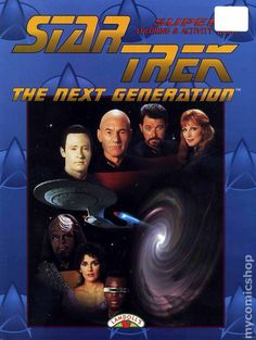 Star Trek The Next Generation coloring book