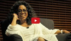 """""""Align your personality with your purpose and no one can touch you."""" Normally when we think of Oprah we picture her interviewing someone right? This is no surprise considering Oprah has interviewed over 30,000 people over the course of the Oprah Winfrey show spanning 25 years. This interview is a little different in that Oprah is the one being interviewed, and it is student led taking place at Stanford Graduate School Of Business. #oprahwinfrey"""