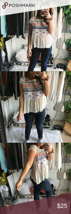 AE Blouse Perfect condition American Eagle Outfitters Tops Blouses