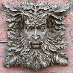 different green man, like the leafy beard