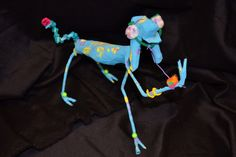 """IT"" paper mache' animal"