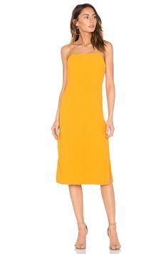 ELLIATT Rise Dress in Marigold Yellow