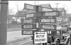 Queens NY signpost ; )