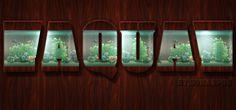 Aquarium style by sonarpos on DeviantArt Text Effects, Aquarium, Photoshop, Deviantart, Ps, Gallery, Creative, User Profile, Scrapbook