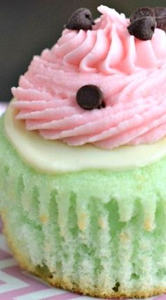 Watermelon Cupcakes Recipe | Shugary Sweets