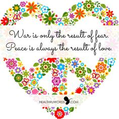 War x Peace... Flowers✌Peace Sign ♥Heart♥ #FlowerPower