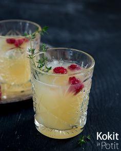 Omena-inkivääriolut – Ginger Beer with Apple #inkivääriolut #omena #drinkki #resepti  #gingerbeer #drink #mocktail  #cocktail #recipe