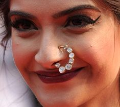 Sonam Kapoor wore the most stunning nathni at Cannes - Times of India