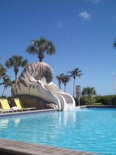Pool at Sundial Beach Resort in Sanibel Island