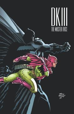 DARK KNIGHT III: THE MASTER RACE #6 Written by FRANK MILLER and BRIAN AZZARELLO • Art by ANDY KUBERT and KLAUS JANSON • Minicomic art by TBD • Cover by ANDY KUBERT