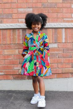 Baby African Clothes, African Dresses For Kids, Latest African Fashion Dresses, Little Girl Dresses, Girls Dresses, Little Girls, Casual Dresses, Ankara Styles For Kids, Kids Dress Wear
