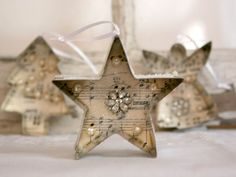 Get your crafty head on this Christmas and create gorgeous decorations for your home - why not start with these cookie cutter tree ornaments?