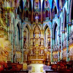 Notre Dame Cathedral Basilica in Ottawa Ontario