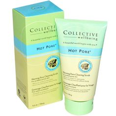 Life Flo Health, Collective Wellbeing, Hot Pore, Warming Pore Cleansing Scrub