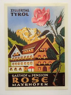 Graphic Illustration, Illustrations, Harry Potter Poster, Old Letters, Luggage Labels, Austria Travel, Buy Bitcoin, Vintage Travel Posters, Alps