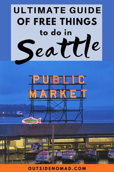 There are so many great FREE things to do in Seattle. Stay on budget and have a blast with these fun and unique places to see in Seattle. Free Travel, Budget Travel, Travel Usa, Cheap Travel, Seattle Activities, Seattle Winter, Seattle Travel, Us Travel Destinations, Budget Planer