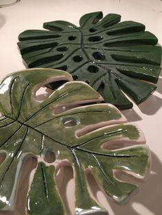 Hojas de cerámica #ceramic