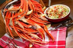 Frozen Opilio Snow Crab Legs From Alaska,  at SeafoodByNet.com
