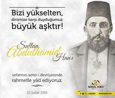 Vefanın sene-i devriyesinde Sultan 2. Abdülhamid Hân'ı rahmet, minnet ve hasretle yâd ediyoruz. Makamı cennet, derecesi âli olsun.… Wall, Instagram, Walls