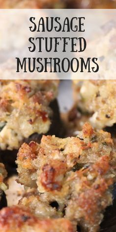 Do you like stuffed mushrooms? We have collected some of the best stuffed mushroom recipes that will leave you satisfied! Appetizer Recipes, Dinner Recipes, Burger Recipes, Seafood Recipes, Paleo Dinner, Pasta Recipes, Soup Recipes, Chicken Recipes, Dessert Recipes