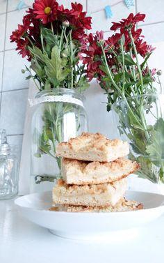 Ein wahnsinnig leckeres Apfelschnitten Rezept mit Äpfeln aus Oma Ullas Garten. So einfach und so lecker!