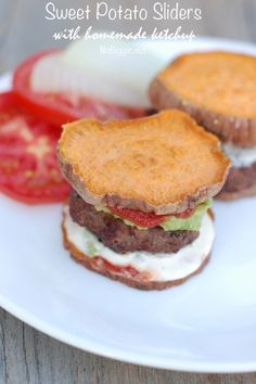 Sweet Potato Sliders plus 24 more gluten and dairy free lunch ideas