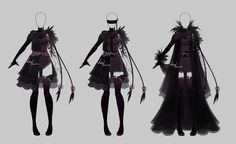 Outfit design - 208 - closed by LotusLumino on DeviantArt