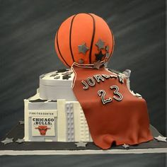 Michael Jordan Birthday Cake Ideas example