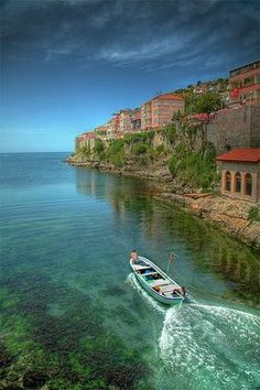 A place to see: Amasra, Turkey Places Around The World, Oh The Places You'll Go, Places To Travel, Travel Destinations, Places To Visit, Around The Worlds, Wonderful Places, Great Places, Beautiful Places