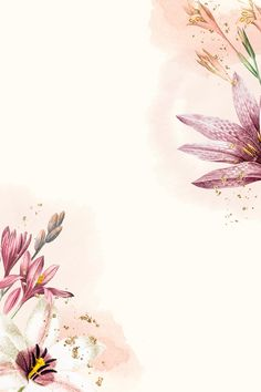 Are you looking for ideas for background?Check this out for aesthetic background inspiration. These unique background pictures will bring you joy. Watercolor Flower Background, Flower Background Wallpaper, Framed Wallpaper, Watercolor Wallpaper, Flower Backgrounds, Background Pictures, Vector Background, Background Patterns, Watercolor Flowers