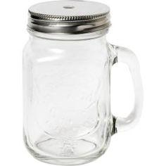 Glasmugg med lock 40 cl