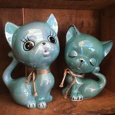 Kitsch Lustre Ceramic Cats Vintage Furniture, Kitsch, Garden Sculpture, Retro Vintage, Mid Century, Classic Furniture, Medieval, Middle Ages