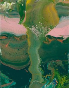 WOWGREAT - surreelust:   Flow by Gerhard Richter (2013)
